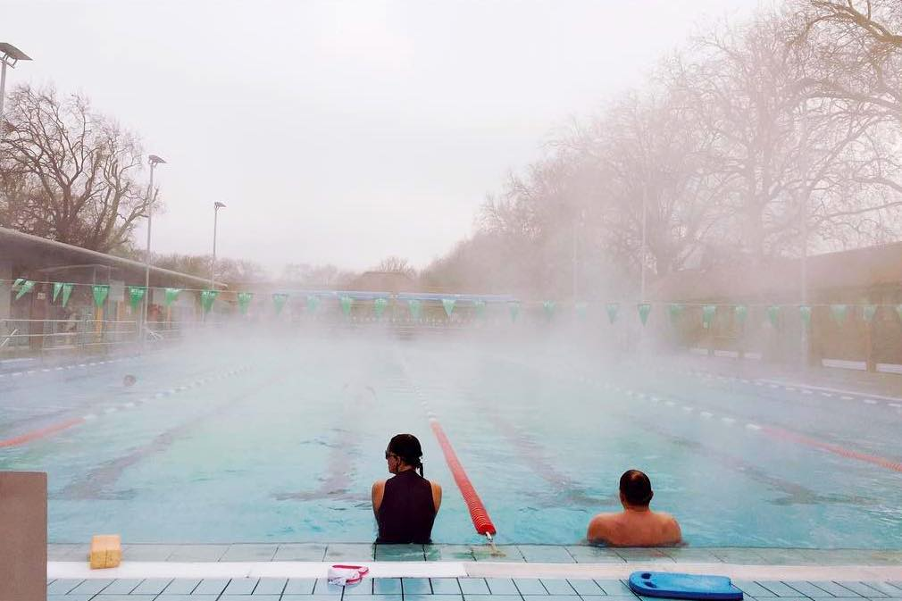 lido early morning steam